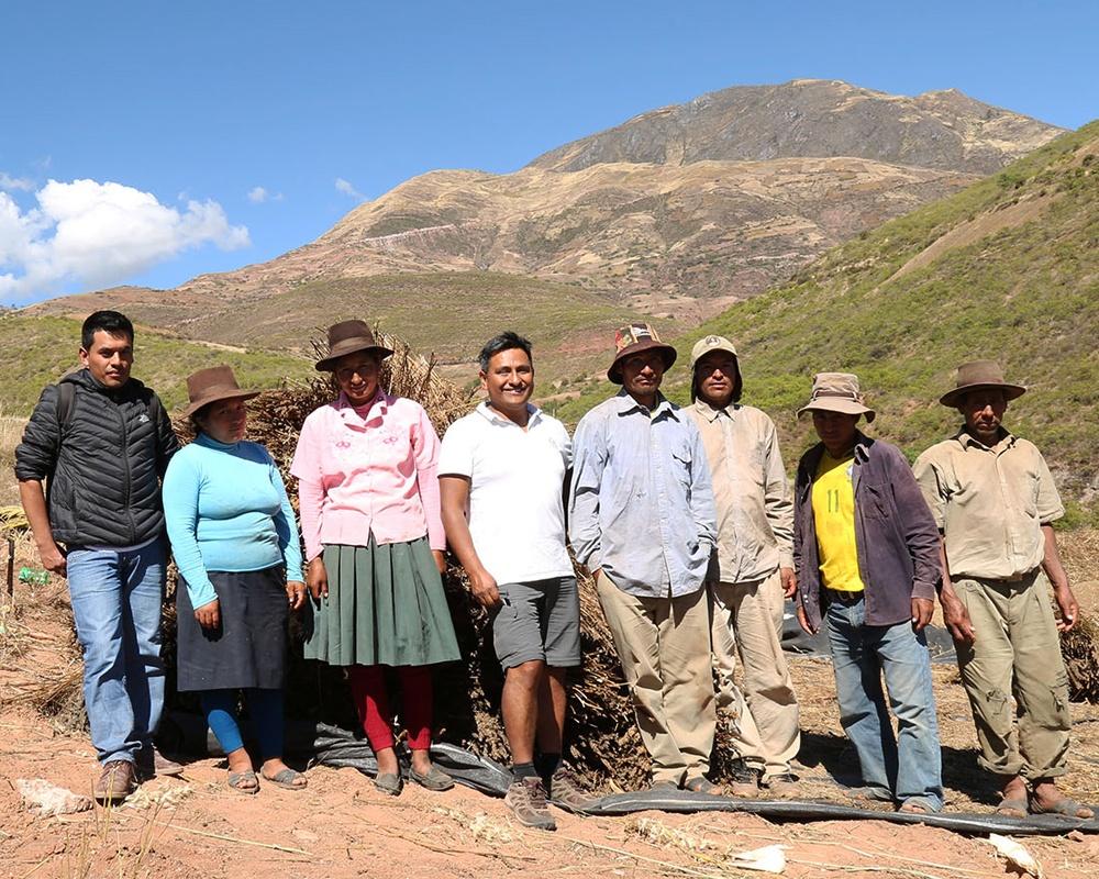 Cultivateurs Pérou
